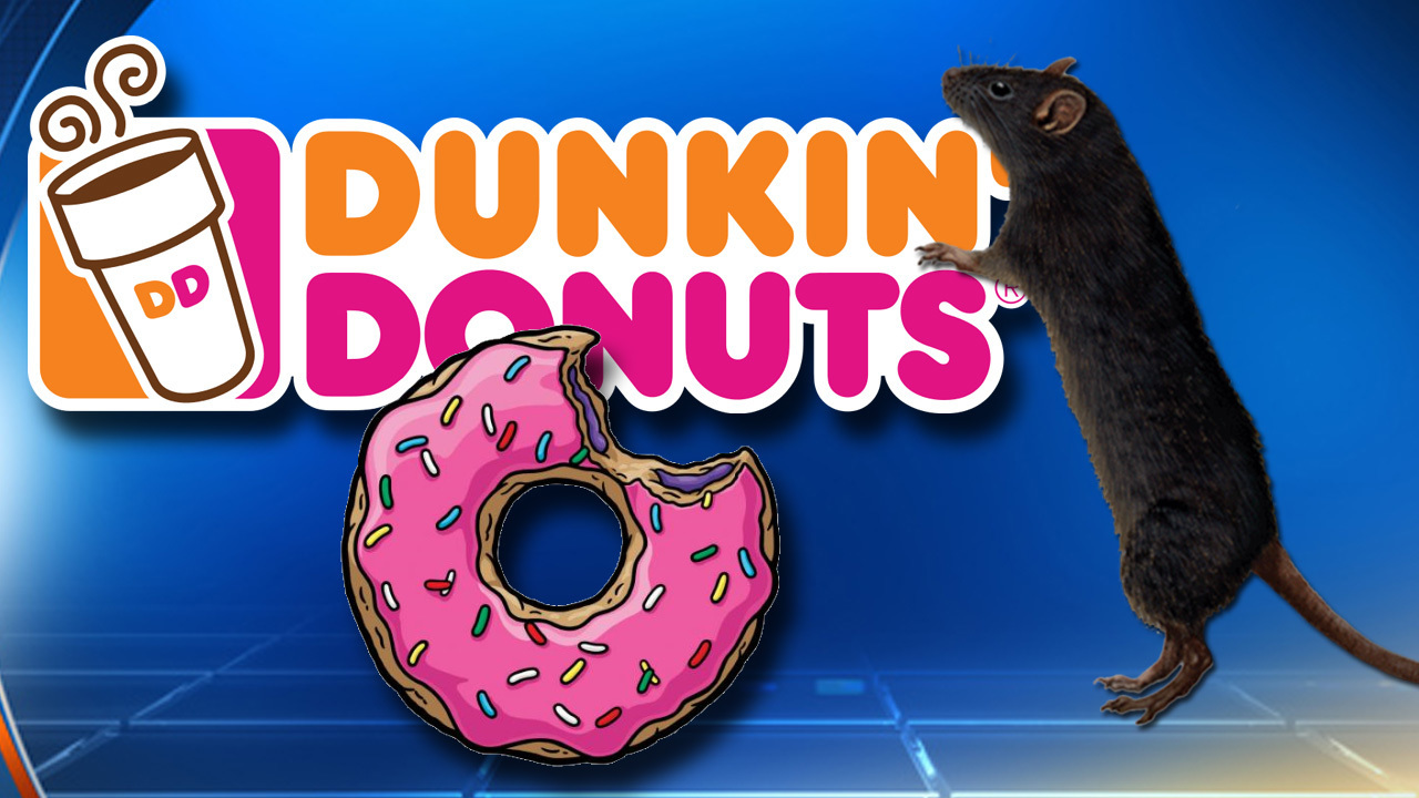 c8188c00302 Rodent activity forces Miami Dunkin Donuts shut
