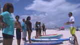 Surfing program promotes alternative to gang life