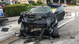 2 injured after 2 cars collide in Fort Lauderdale