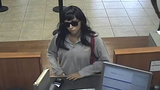 Woman wearing dark sunglasses robs Chase branch in Hollywood