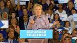Clinton makes campaign stop in South Florida