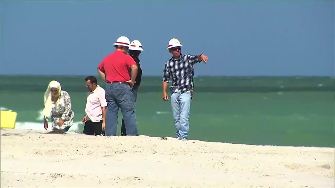 Sand Movement During Hurricane Matthew Replenishes Portion