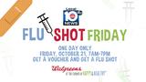Take part in 'Flu Shot Friday'