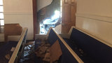 8 injured after driver crashes into church during Sunday service