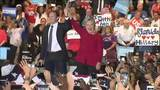 Hillary Clinton attends rally at Palm Beach State College in Lake Worth
