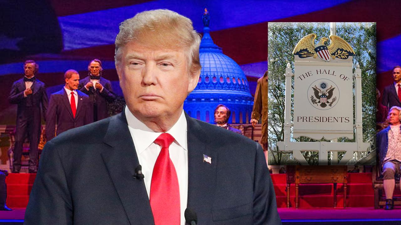 Trump set to join Walt Disney World's Hall of Presidents
