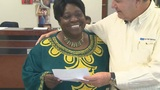 Food For The Poor CEO presents Big Mama with $5,000 to help with&hellip&#x3b;