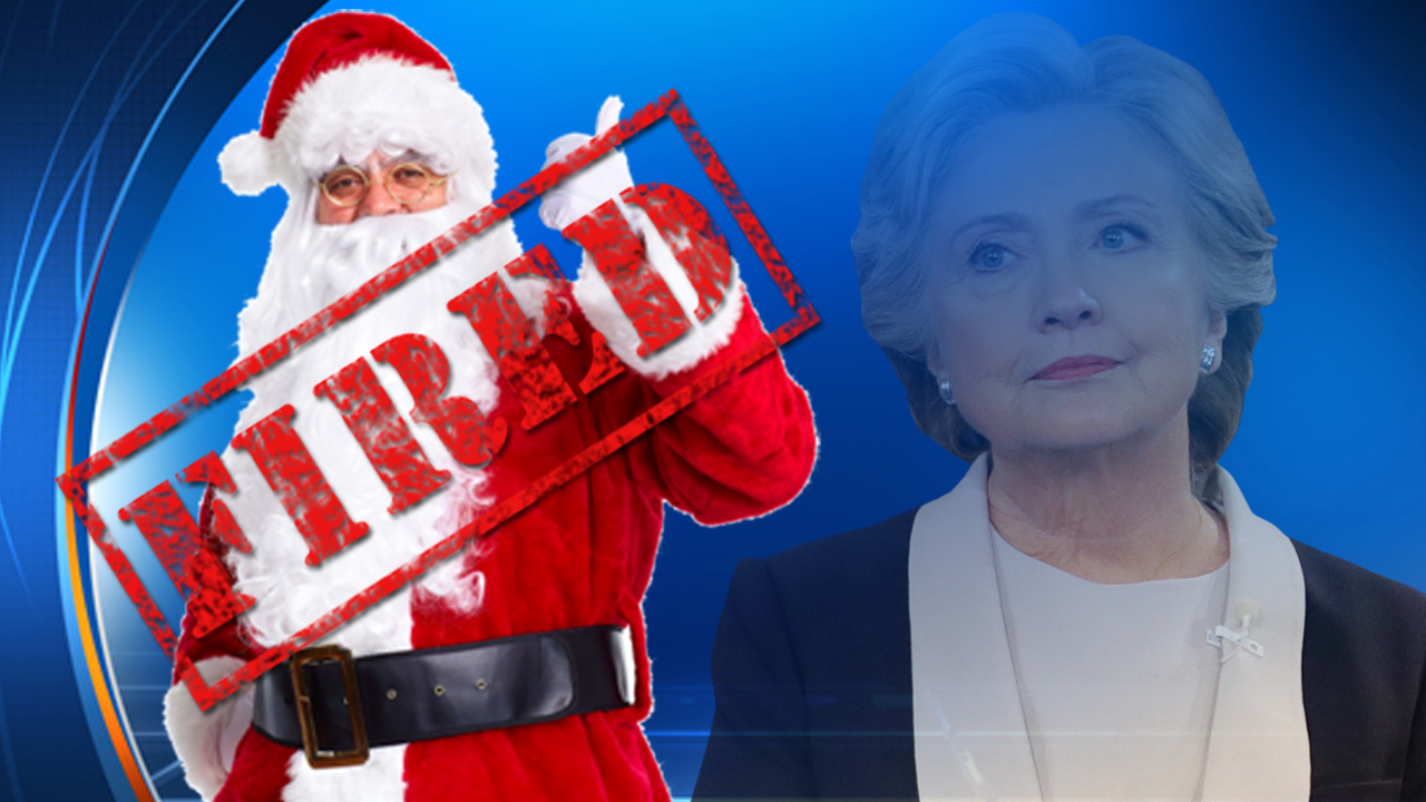 Santa at Florida mall replaced for saying Hillary Clinton ...