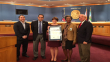 Local 10 receives proclamation from Miami-Dade County