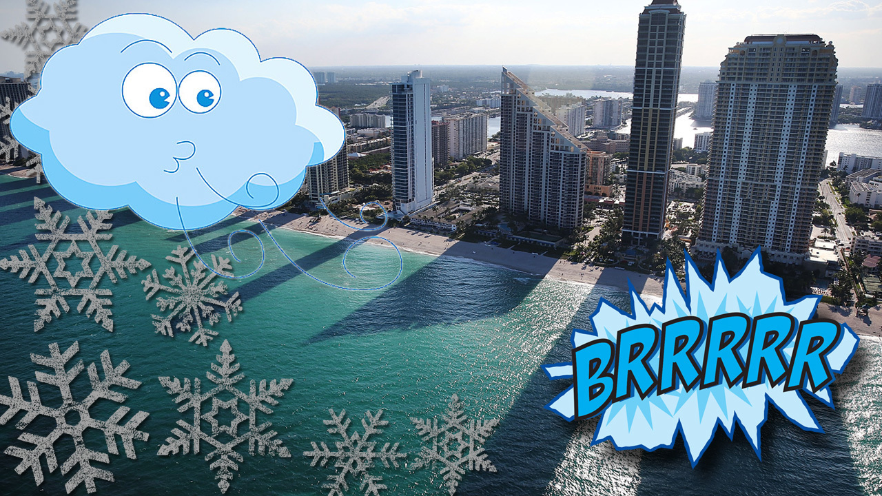 Cold Temps To Finally Hit South Florida