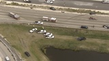 I-75 southbound shut down in Miramar after crash