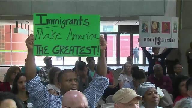 'Immigrants Make America The Greatest'