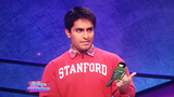 Jeopardy! contestant flips the 'bird' during game