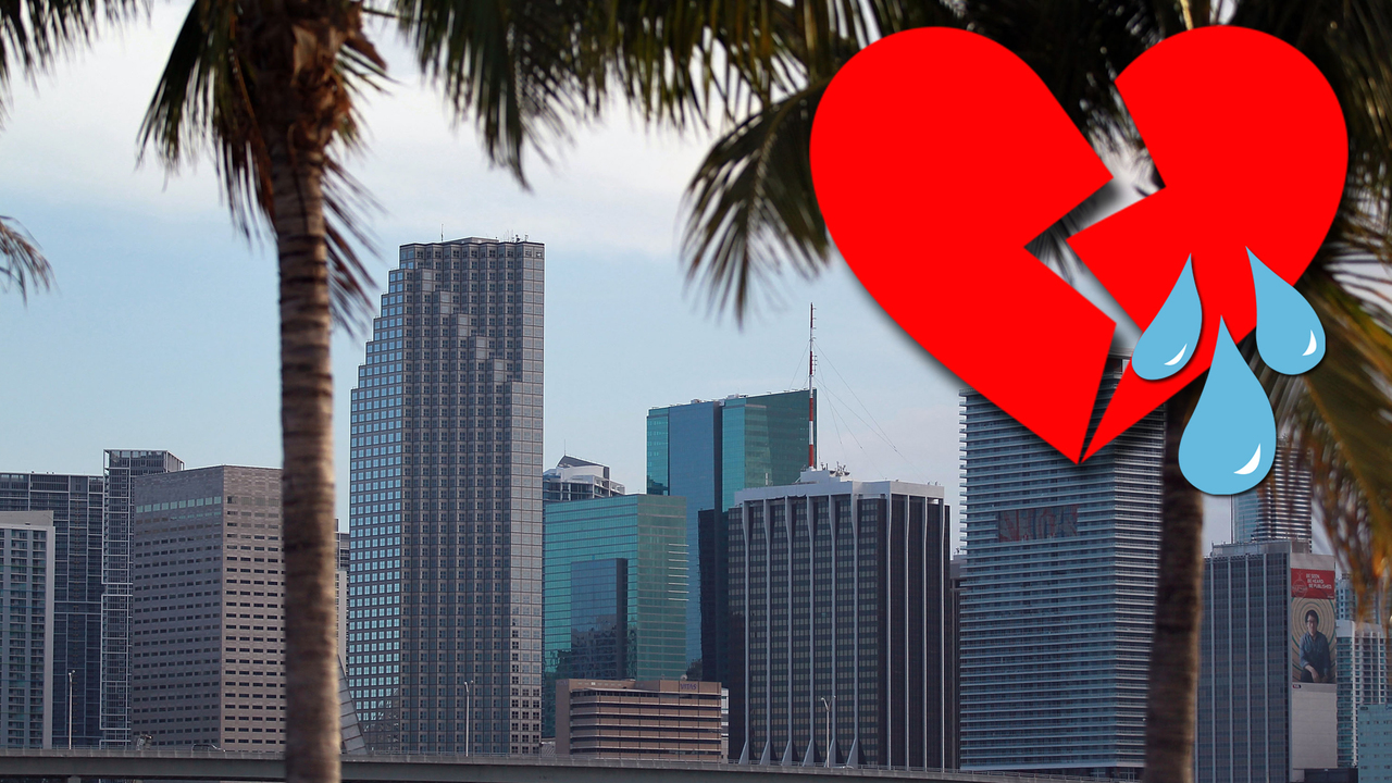 South Florida among worst places to find love in U.S.