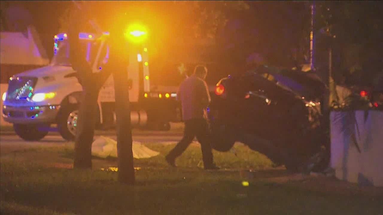 Car Crash Miami Lakes