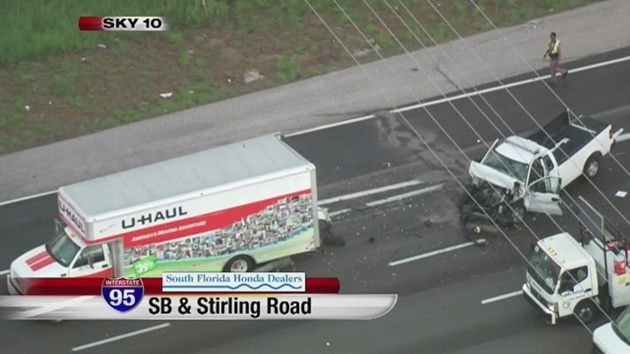 At least 1 killed when AAA pickup truck collides with U-Haul