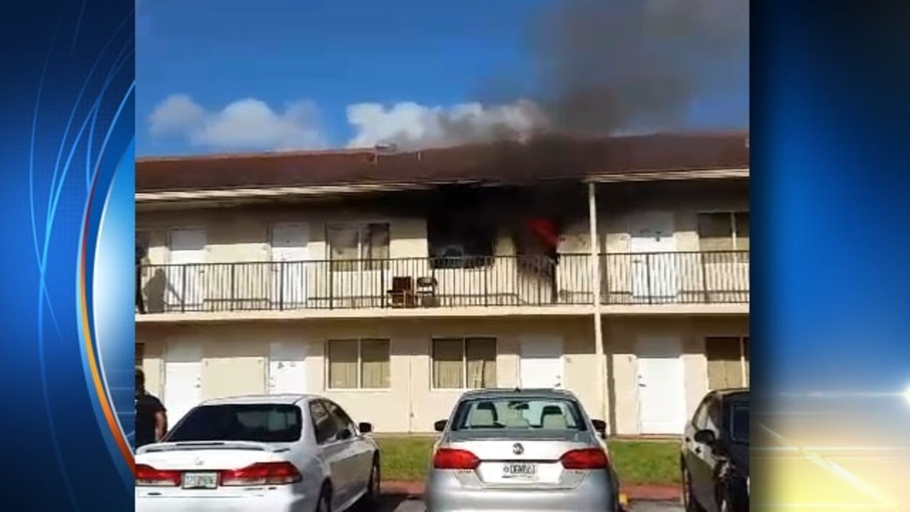 Fire Reported Inside Barry University Dorm Room