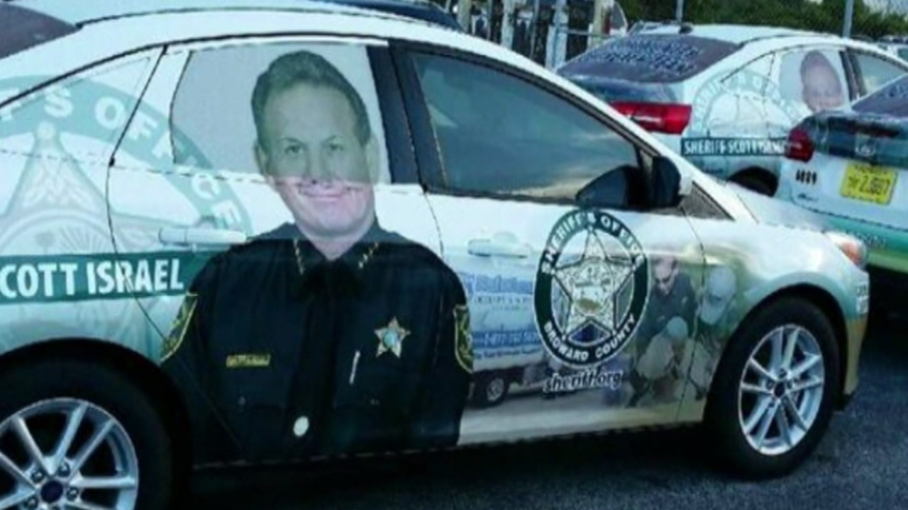 Car Wraps Cost >> Broward County Sheriff Scott Israel's photo taken off official...