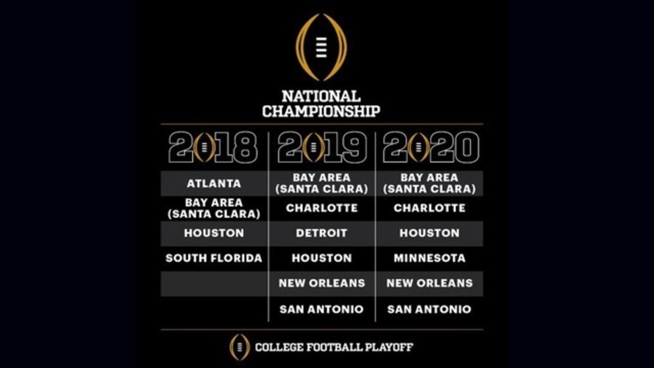 South Florida among 9 bidding to host College Football ...