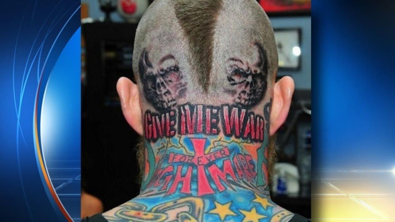 Birdman adds new head tattoo Birdman Head Tattoo