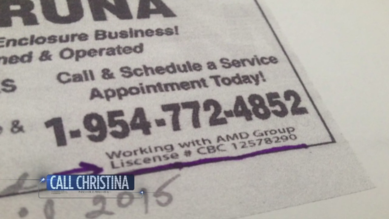 Contractors using another company's license to get business