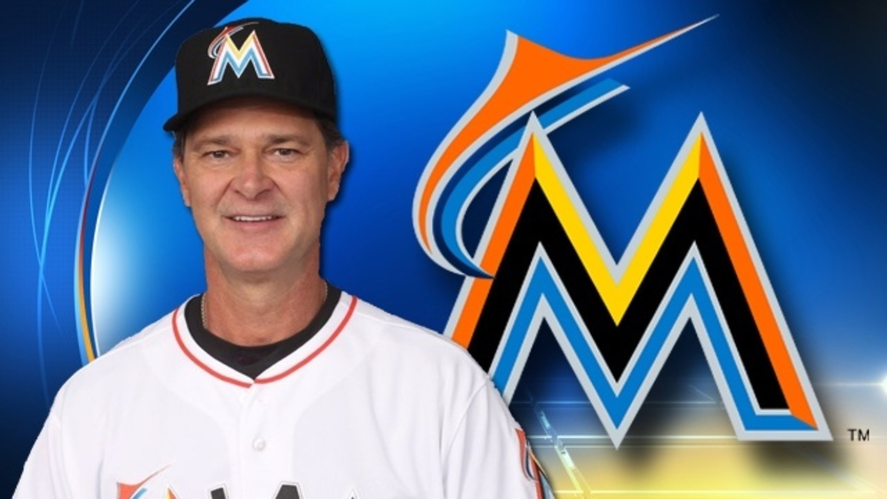 Don Mattingly Introduced As New Miami Marlins Manager-9766