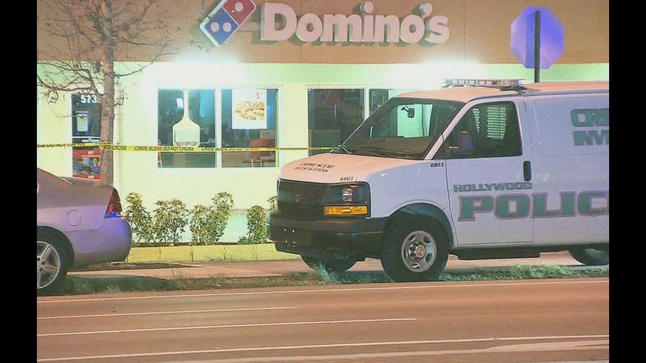 domino s pizza delivery driver shoots kills robber