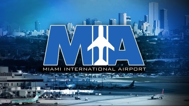 K-9 units sweep Miami International Airport after caller reports…