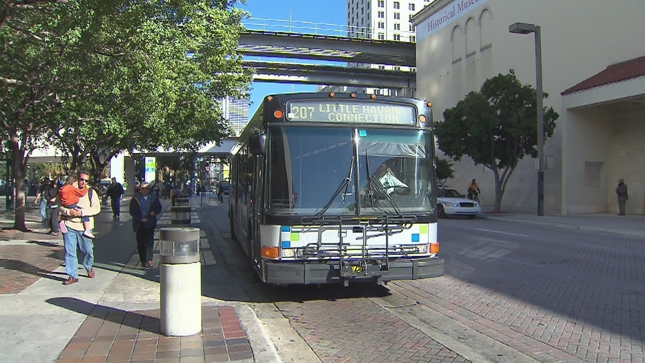 miami-dade transit pulls 18 buses from service, causing delays