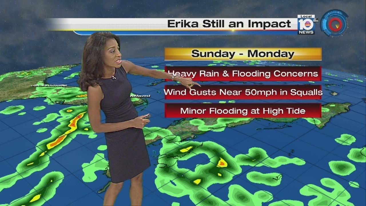 Tropical Storm Erika dissipates early Saturday