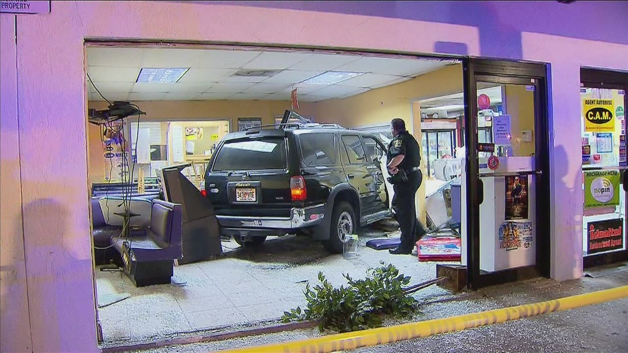 Suv Crashes Into Miami Gardens Restaurant
