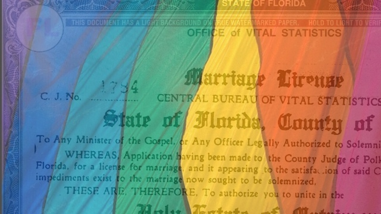 Gay Marriage Guide How To Get A Marriage License In South