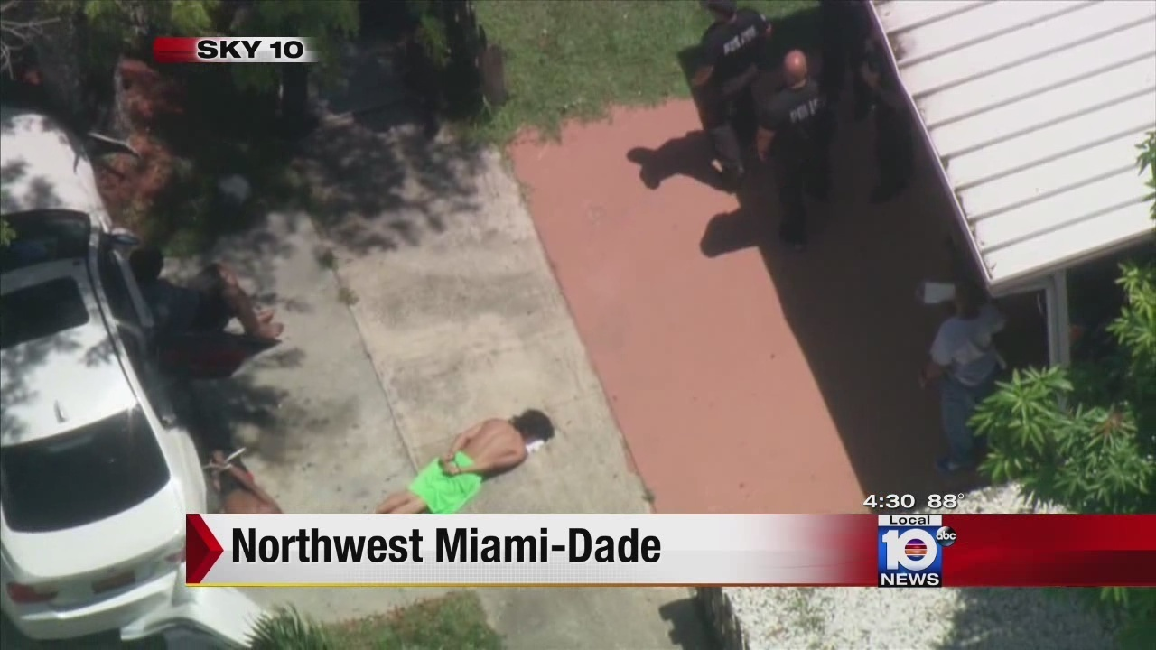5 In Custody After Shooting Outside Northwest Miami Dade