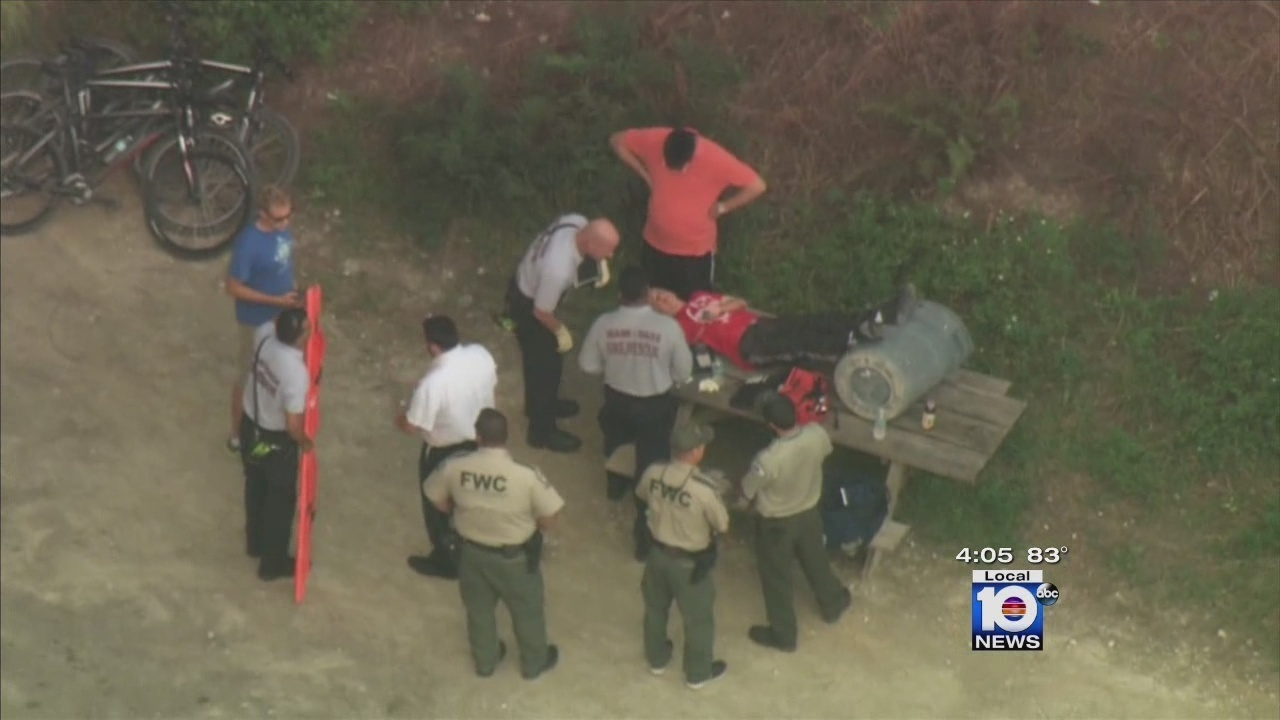 Boy Injured At Oleta River State Park