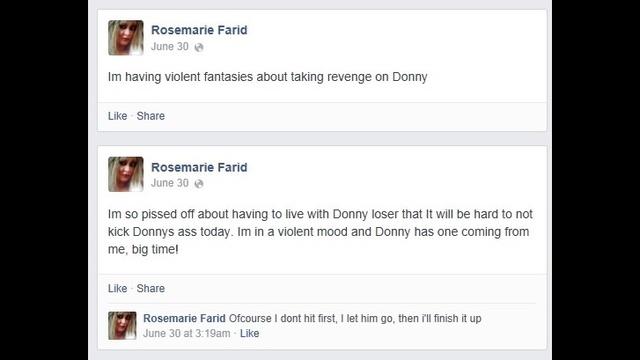 Farid Facebook posts