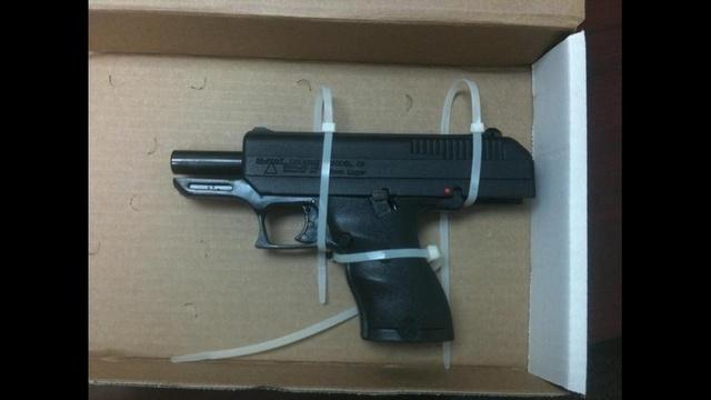 McKnight burglary gun