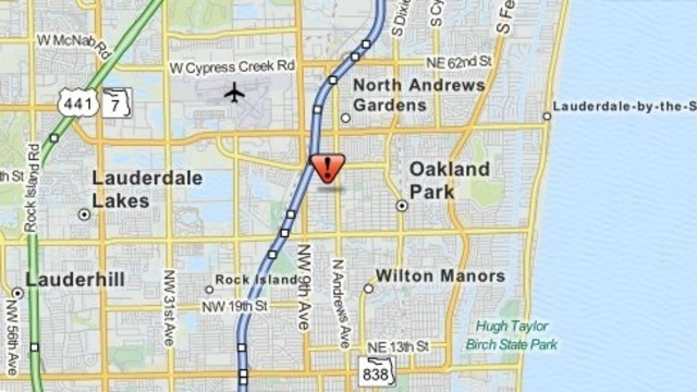 Oakland Park map_20394760