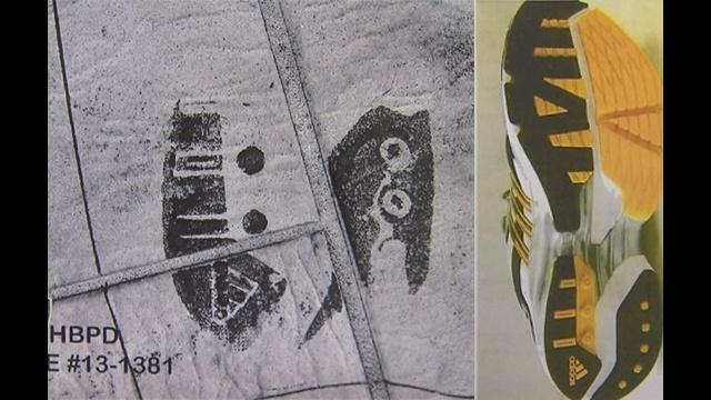 Sole imprint, Adidas Nova_23831082