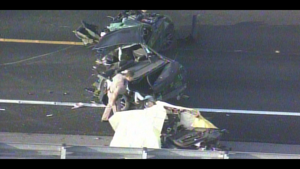 Miami Car Crash And Shooting
