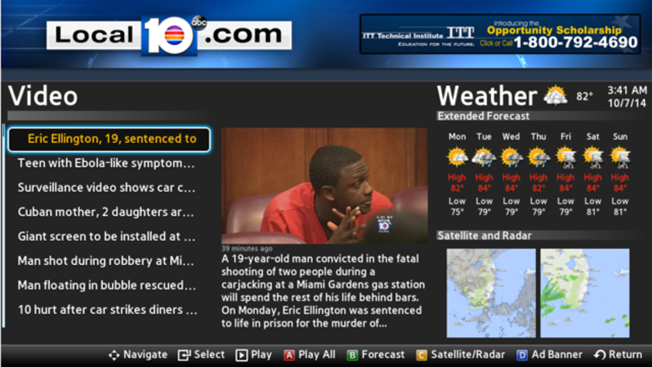 Watch Local 10 News On Your Smart Tv Or Streaming Stick