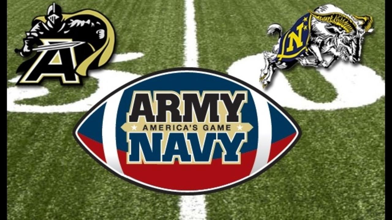 Army Vs Navy Football >> Army vs. Navy college football game prompts social media team...
