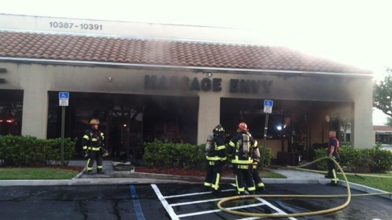 Doral florida strip mall fire