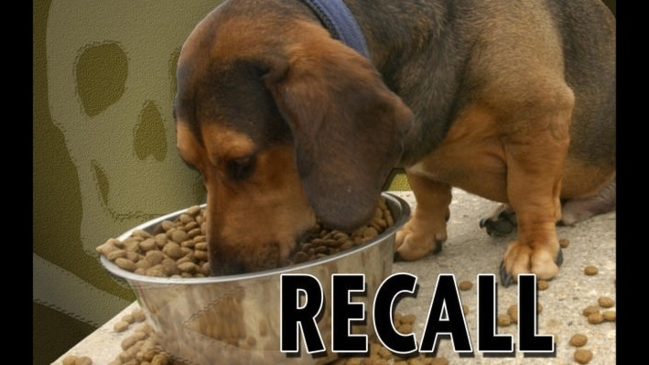 List of recent dog food recalls as tracked by the editors of The Dog Food Advisor