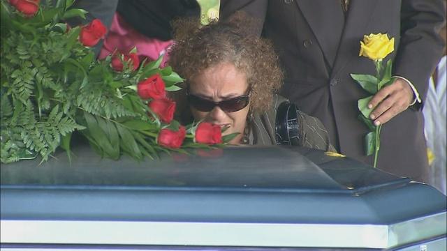 Herreras mom over casket