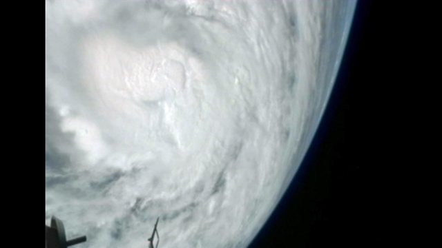 Hurricane Sandy from ISS_17149052