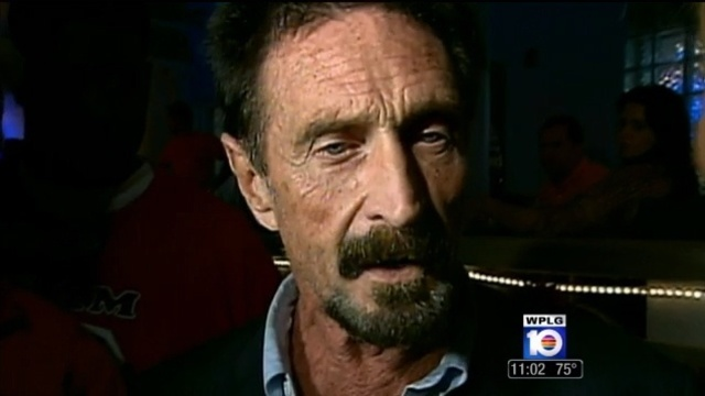 Millionaire John McAfee arrested in Dominican Republic