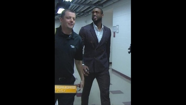 Wade Purple Gucci Suit