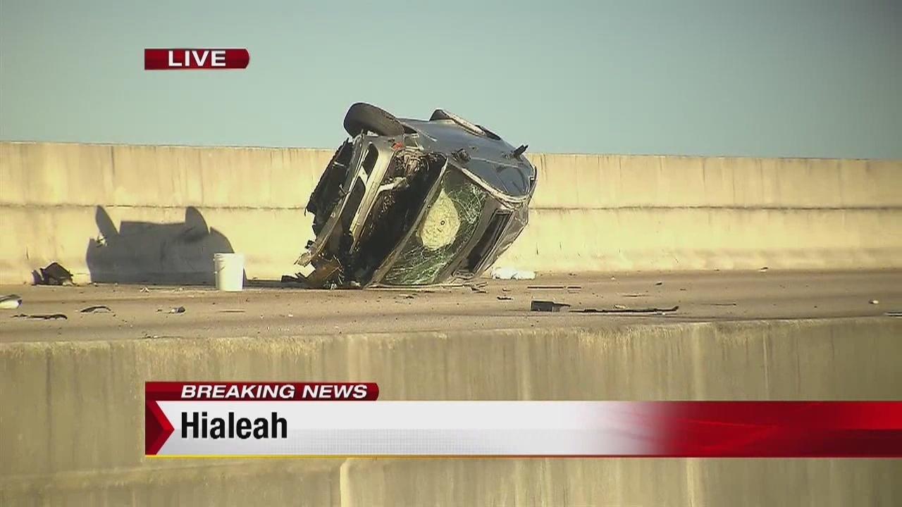 Fatal Crash Shuts Down Northbound Lanes Of Palmetto Expressway