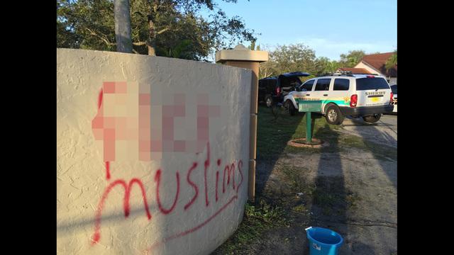 Vandalism at Nur UI Islam Academy