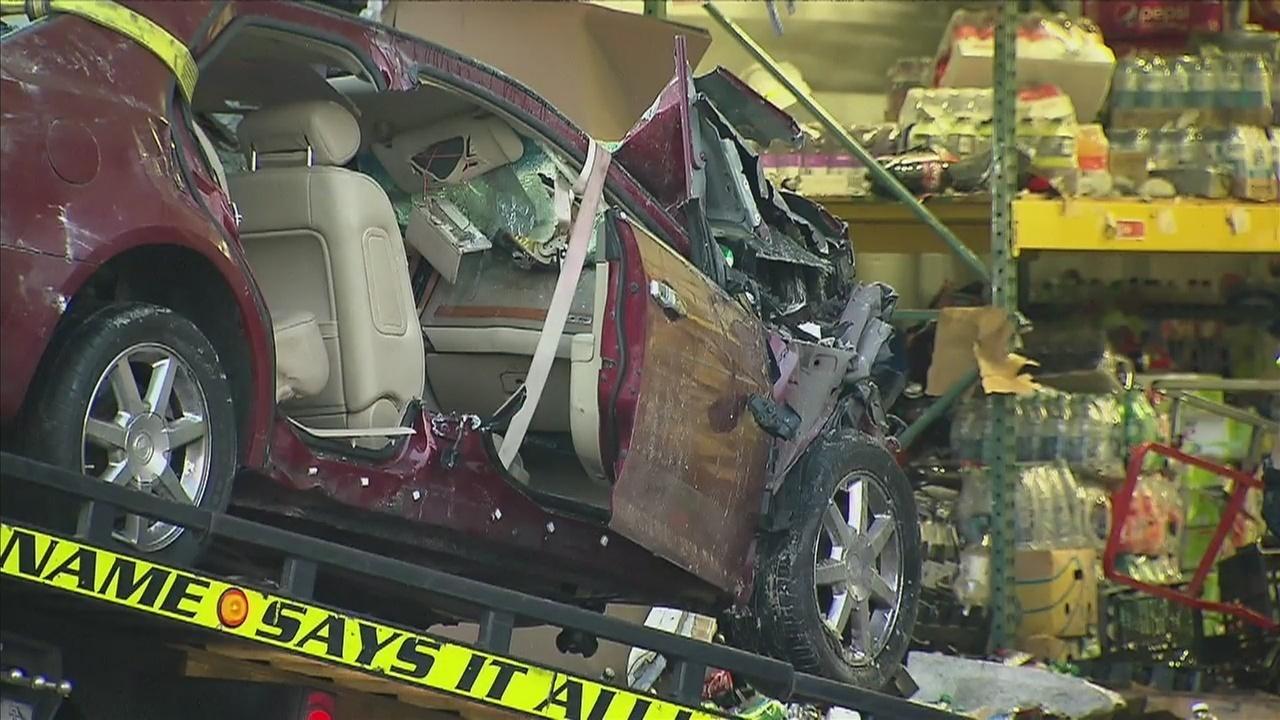 Car Crashes Into Publix Driver Killed
